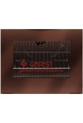 Стекло панорамное для плиты Гефест (GEFEST) ПГ 3200-06 К19 (без отверстий)
