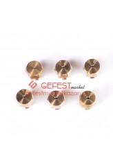 Комплект сопел (жиклёров) для плиты GEFEST (1200.98.0.000-02)