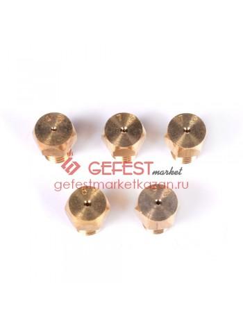 Комплект сопел (жиклёров) для плиты GEFEST (1200.98.0.000-05)
